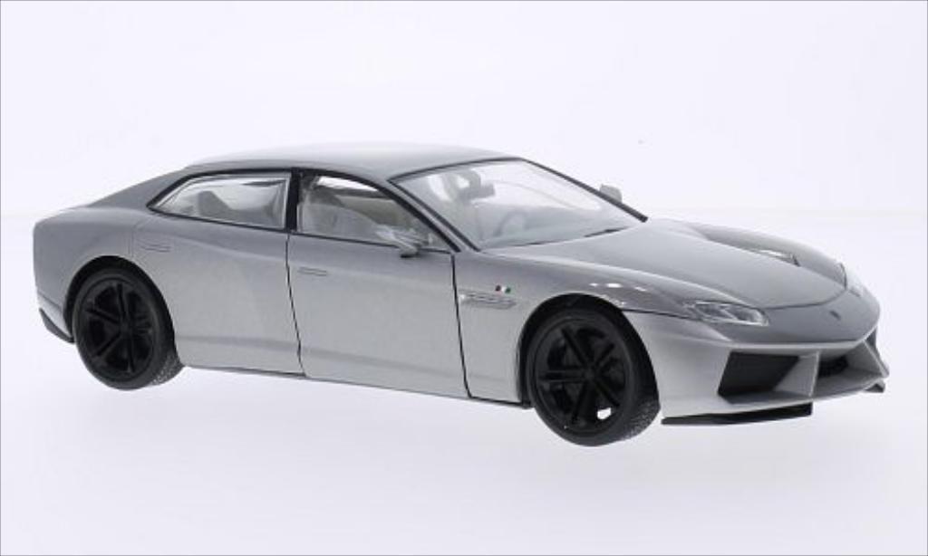 Lamborghini Estoque 1/24 Motormax metallise grey diecast model cars