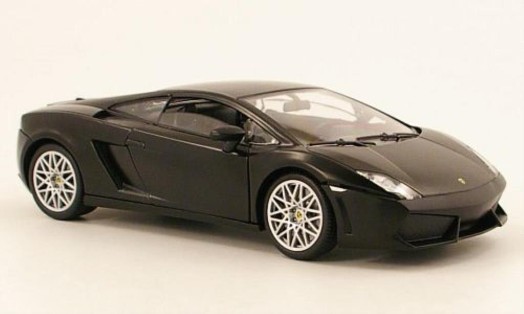 Lamborghini Gallardo 1/24 Motormax LP 560-4 noire miniature