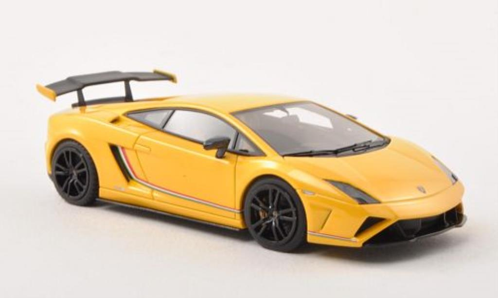 lamborghini gallardo lp 570 4 squadra corse gelb matt schwarz 2013 mcw modellauto 1 43 kaufen. Black Bedroom Furniture Sets. Home Design Ideas
