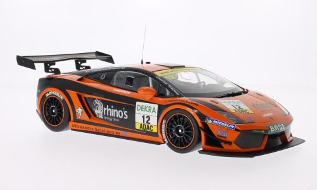 Lamborghini Gallardo 1/18 Minichamps LP 600+ GT3 No.12 Leipert Motorsport ADAC GT Masters 2011 /M.Leipert modellino in miniatura