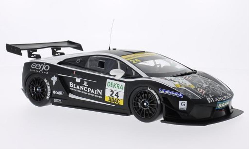 Lamborghini Gallardo 1/18 Minichamps LP 600+ GT3 No.24 Reiter Engineering ADAC GT Masters 2011 /Kox miniature