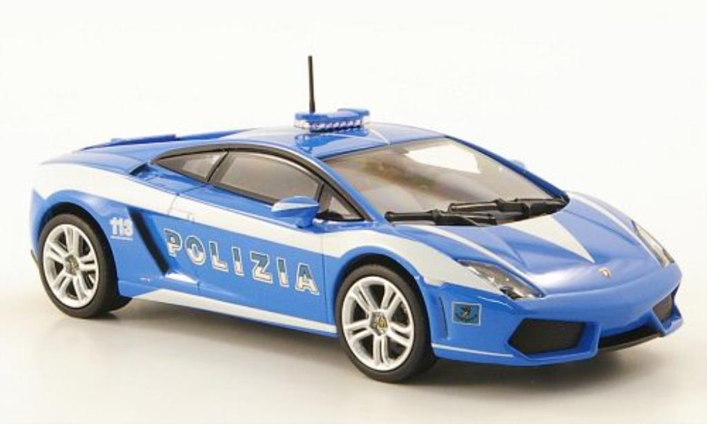 Lamborghini Gallardo LP560-4 LP560-4 1/43 Norev Polizia 2009 miniature
