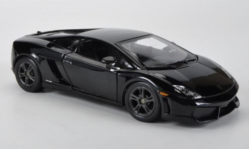 lamborghini gallardo lp560 4 schwarz maisto modellauto 1 24 kaufen verkauf modellauto online. Black Bedroom Furniture Sets. Home Design Ideas