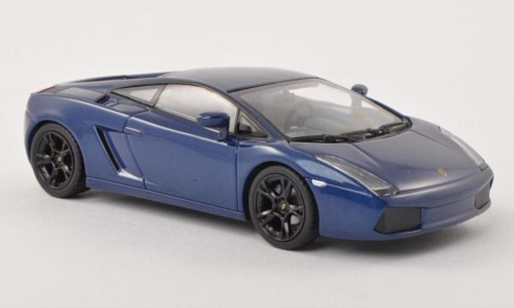 lamborghini gallardo blau 2006 minichamps modellauto 1 43 kaufen verkauf modellauto online. Black Bedroom Furniture Sets. Home Design Ideas