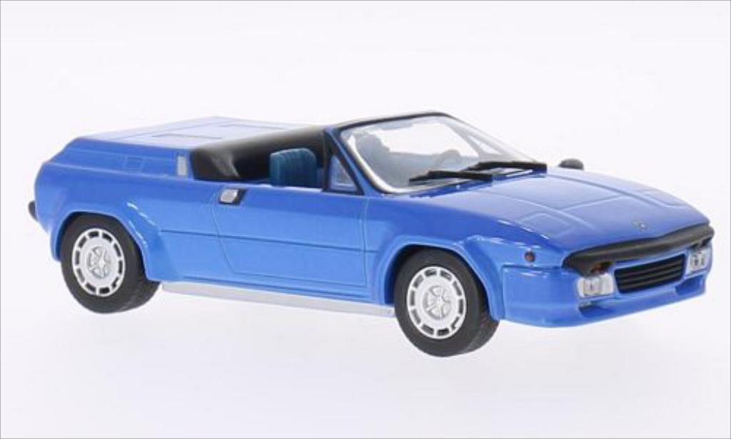 Lamborghini Jalpa Spyder Predotipo metallic-blue 1987 WhiteBox. Lamborghini Jalpa Spyder Predotipo metallic-blue 1987 miniature 1/43