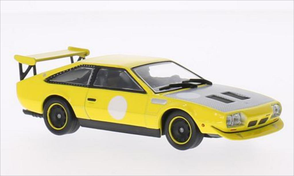Lamborghini Jarama Rally yellow 1973 WhiteBox. Lamborghini Jarama Rally yellow 1973 miniature 1/43