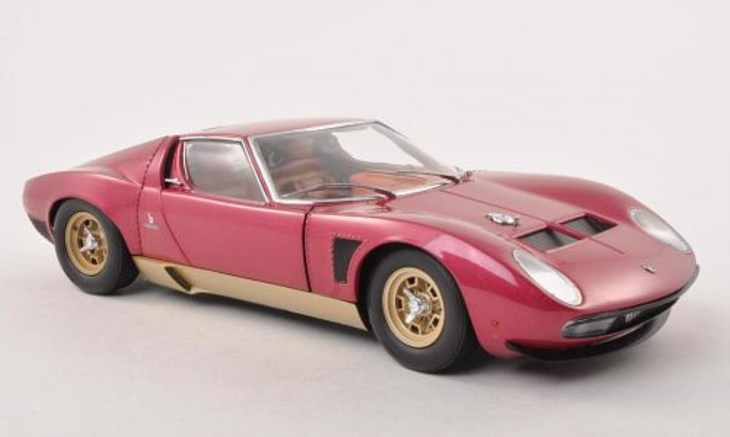lamborghini miura jota svj lila gold kyosho modellauto 1. Black Bedroom Furniture Sets. Home Design Ideas