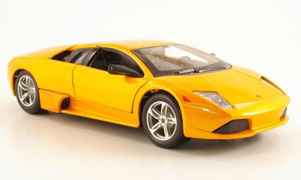Lamborghini Murcielago LP640 1/24 Maisto orange miniature