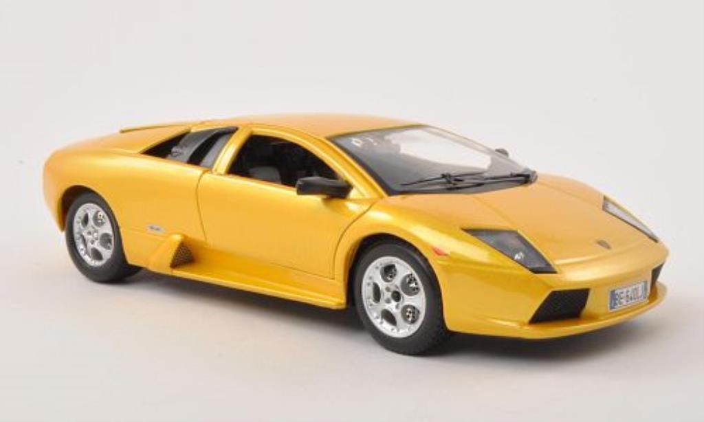 Lamborghini Murcielago 1/24 Burago amarillo 2002 coche miniatura