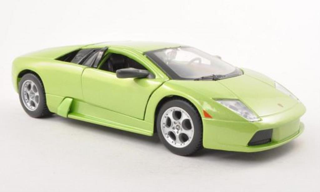 Lamborghini Murcielago 1/24 Maisto verte 2001 miniature