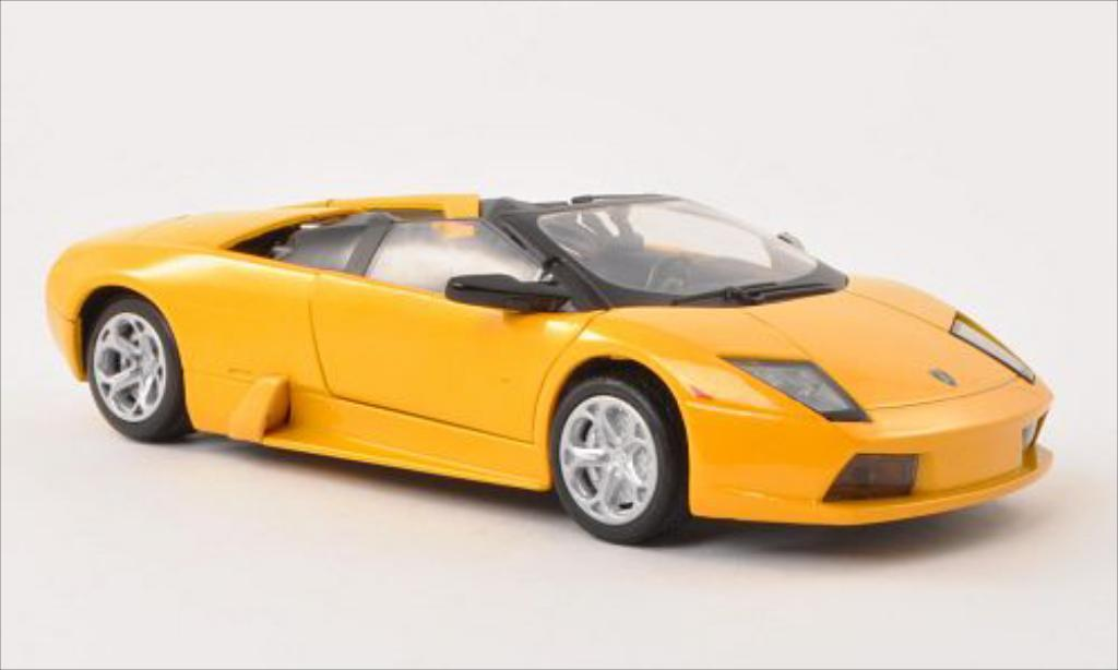 Lamborghini Murcielago Roadster 1/24 Motormax metallise yellow diecast model cars
