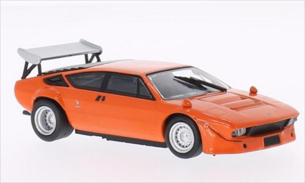 Lamborghini Urraco 1/43 WhiteBox Rally (Bob Wallace) orange 1974 diecast model cars
