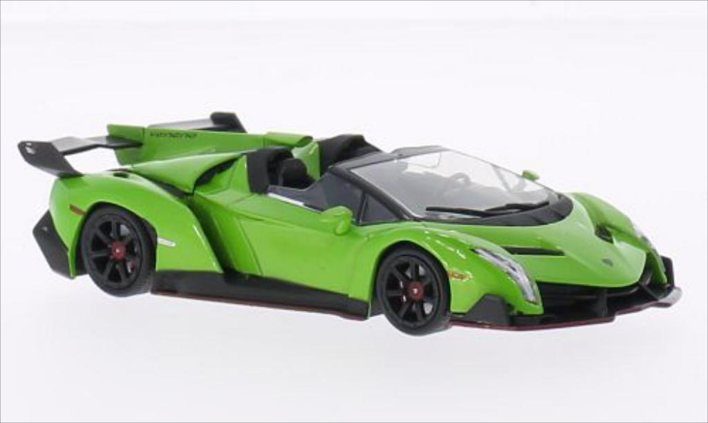 Lamborghini Veneno 1/43 WhiteBox Roadster verte 2013 miniature