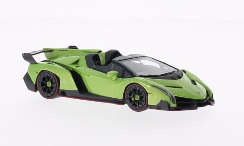 Lamborghini Veneno Roadster green MCW diecast model car 1 ...