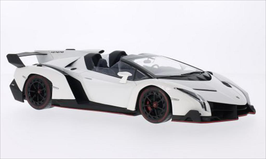 Lamborghini Veneno 1/18 Kyosho Roadster metallise white/red diecast model cars