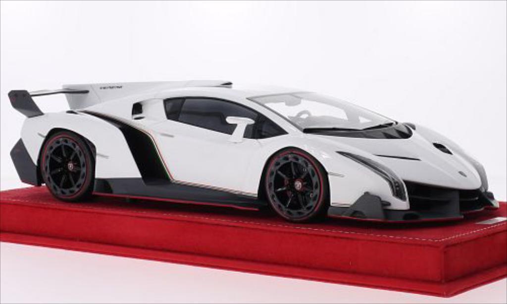 lamborghini veneno weiss 2013 mcw modellauto 1 18 kaufen verkauf modellauto online. Black Bedroom Furniture Sets. Home Design Ideas