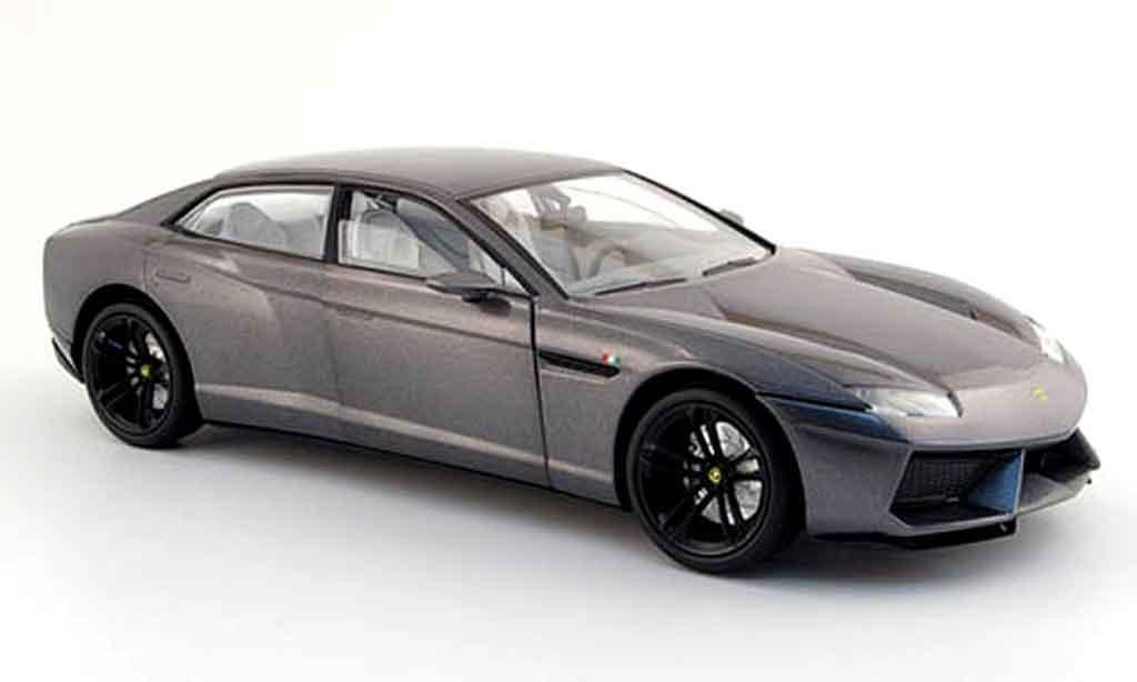 Lamborghini Estoque 1/18 Mondo Motors grey autosalon paris 2008 diecast model cars