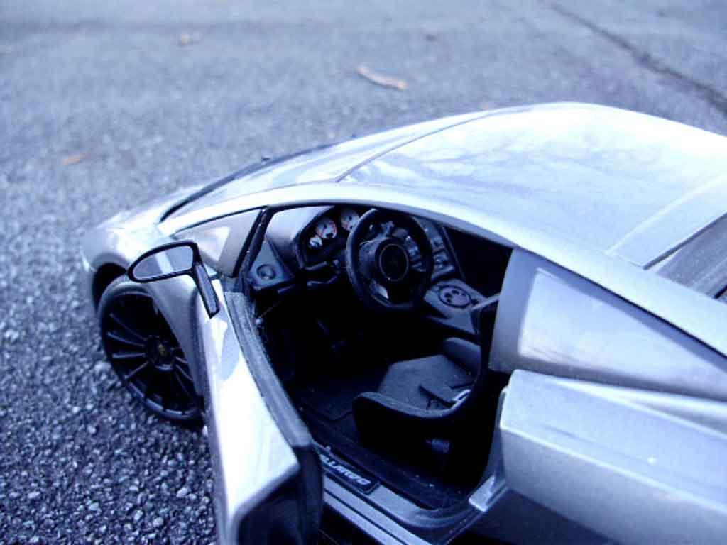 Lamborghini Gallardo Superleggera 1/18 Maisto gray foncee