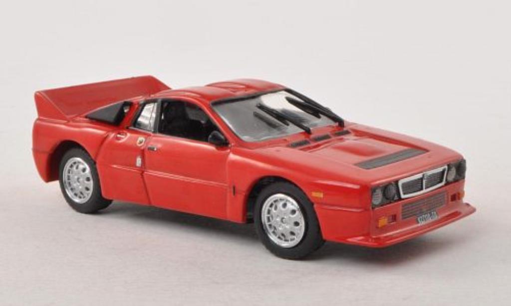 Lancia 37 1/43 Vitesse Stradale rouge 1982 miniature