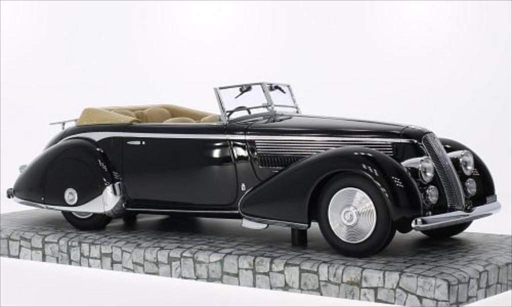 Lancia Astura 1/18 Minichamps Tipo 233 Corto noire RHD 1936 miniature