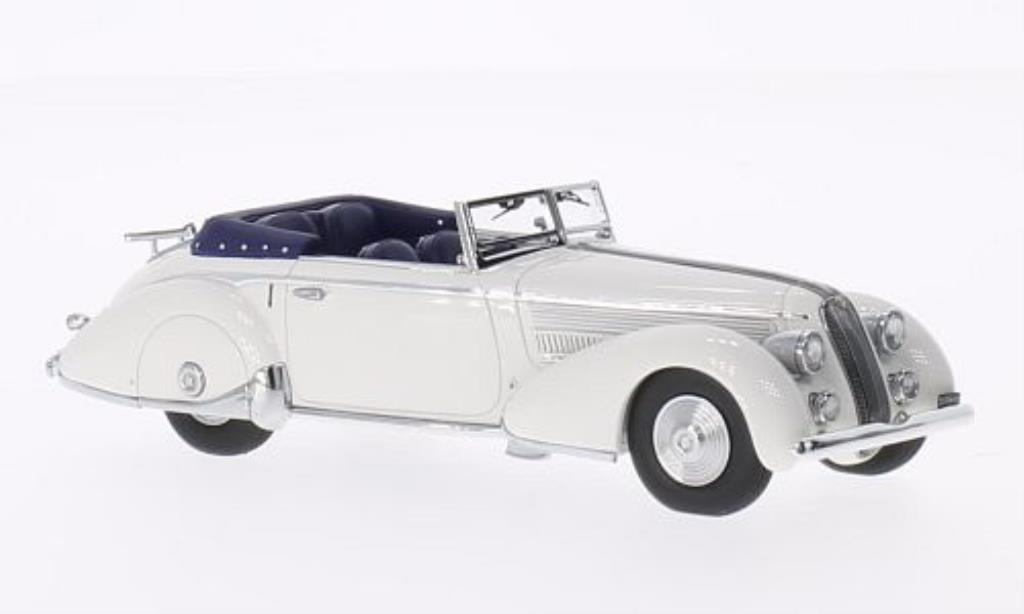 Lancia Astura 1/43 Minichamps Tipo 233 Corto weiss 1936 modellautos