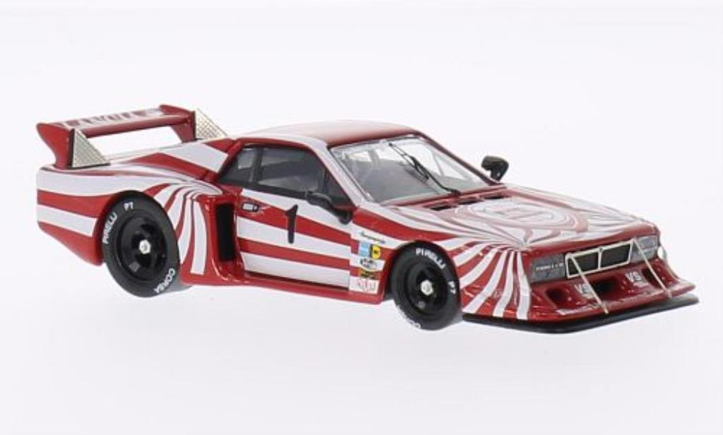 Lancia Beta 1/43 Best Monte Carlo No.1 6 Ore di Vallelunga 1980 /Cheever miniature