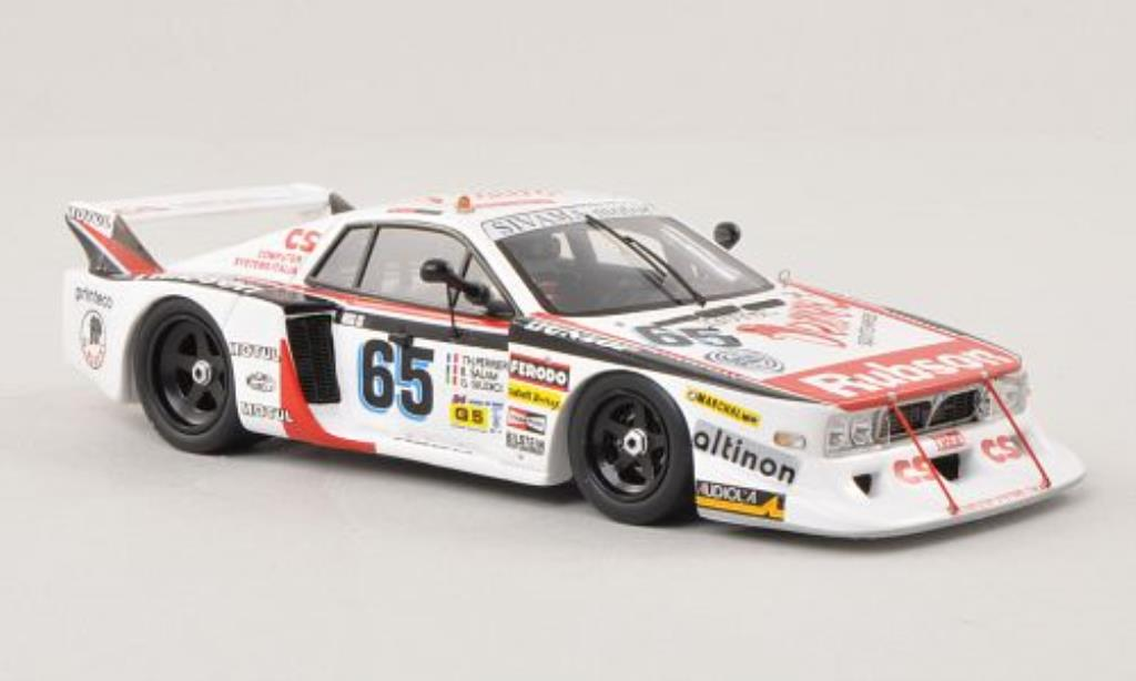 Lancia Beta 1/43 Spark Monte Carlo No.65 Sivama Motor 24h Le Mans 1982 /P.Giudicci miniature