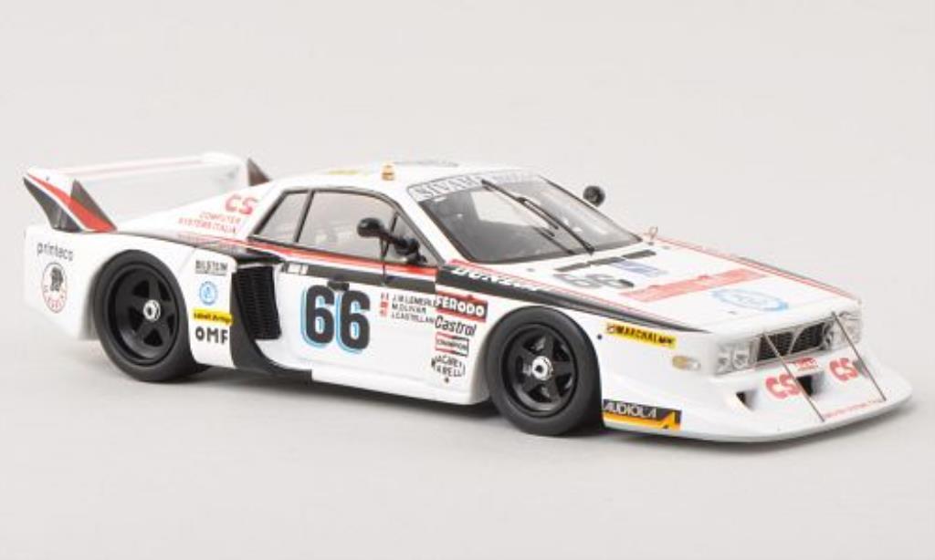 Lancia Beta 1/43 Spark Monte Carlo No.66 24h Le Mans 1982 miniature