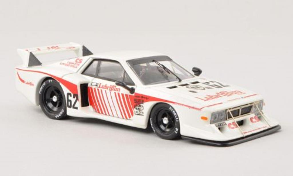 Lancia Beta 1/43 Best Montecarlo No.62 Silverstone 1981 /Pianta miniature