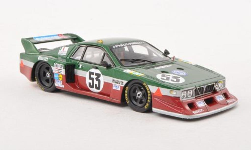 Lancia Beta 1/43 Spark No.53 24h Le Mans 1980 /M.Finotto miniature