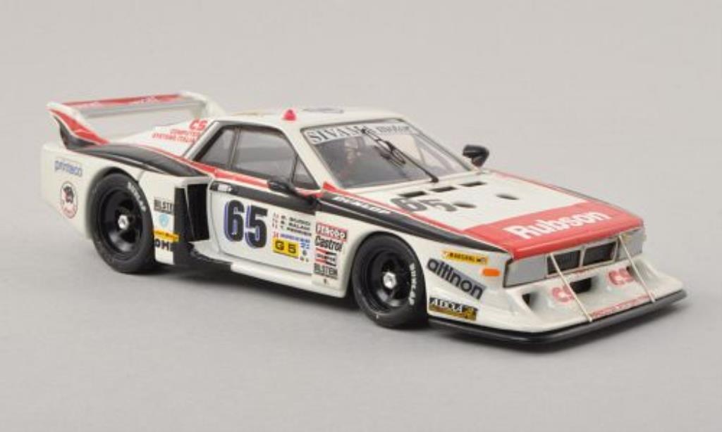 Lancia Beta 1/43 Best No.65 SIVAMA motor 24h Le Mans 1982 /G.Giudici miniature