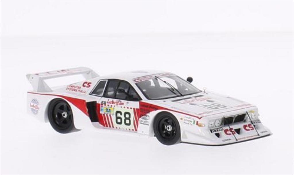 Lancia Beta 1/43 Spark No.68 Lubrifilm 24h Le Mans 1981 /G.Schon miniature