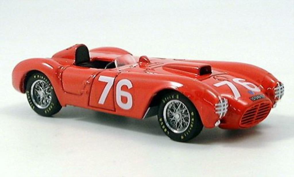 Lancia D24 1/43 Brumm No.76 P.Taruffi Targa Florio 1954 miniature
