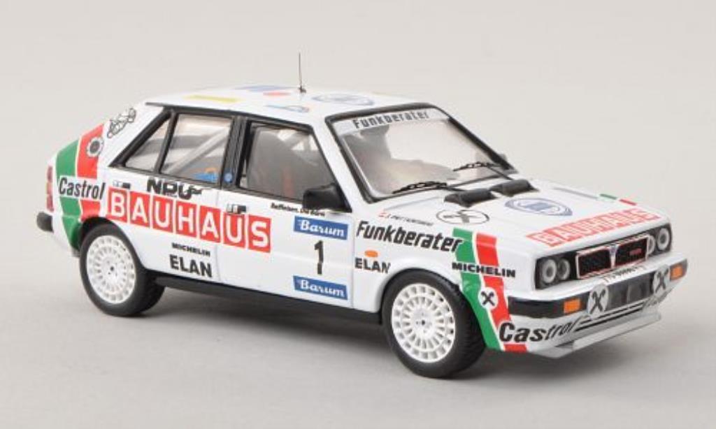 Lancia Delta 1/43 Trofeu HF 4WD No.1 Bauhaus Barum Rally 1988 /J.Pattermann miniature