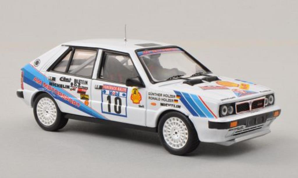 Lancia Delta 1/43 Trofeu HF 4WD No.10 AM Motorsport Hunsruck-Rally 1987 /G.Holzer miniature