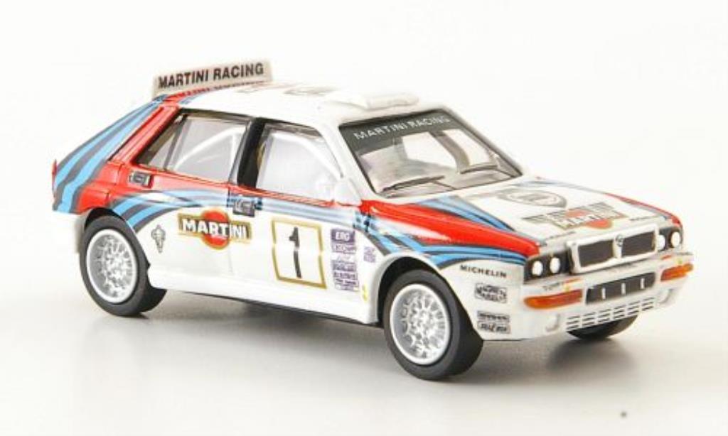 lancia delta miniature hf integrale evo 2 no 1 martini racing 1992 ricko 1 87 voiture. Black Bedroom Furniture Sets. Home Design Ideas