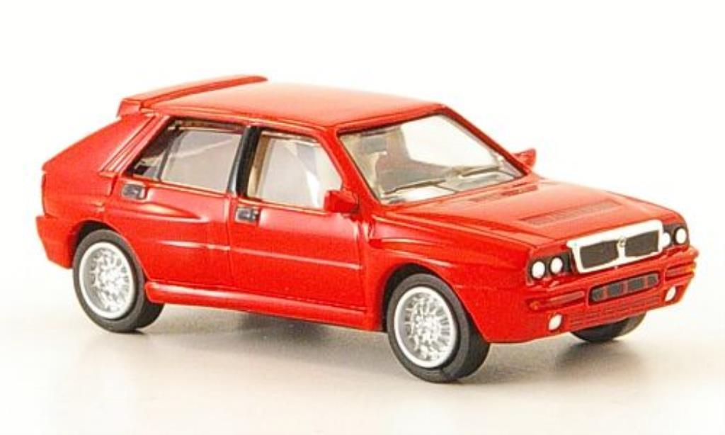 lancia delta miniature hf integrale evo 2 rouge 1992 ricko 1 87 voiture. Black Bedroom Furniture Sets. Home Design Ideas