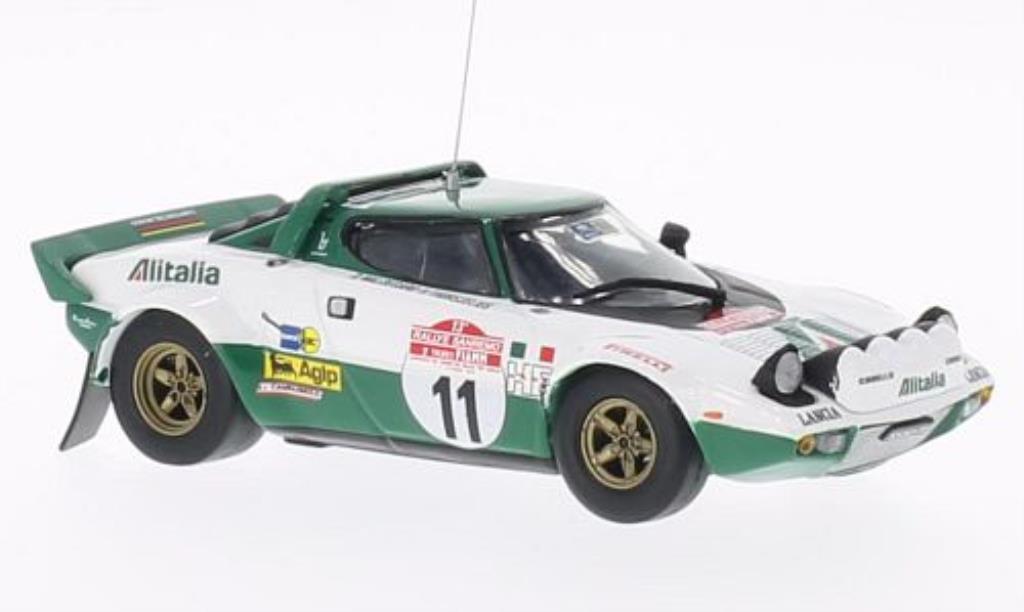 Lancia Stratos HF 1/43 Vitesse HF No.11 Rally Sanremo 1975 /H.Thorszelius miniature