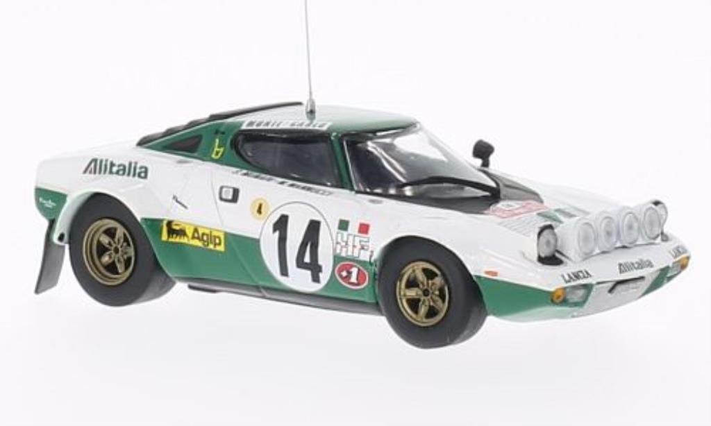 Lancia Stratos HF 1/43 Vitesse HF No.14 Rally Monte Carlo 1975 /M.Mannucci miniature