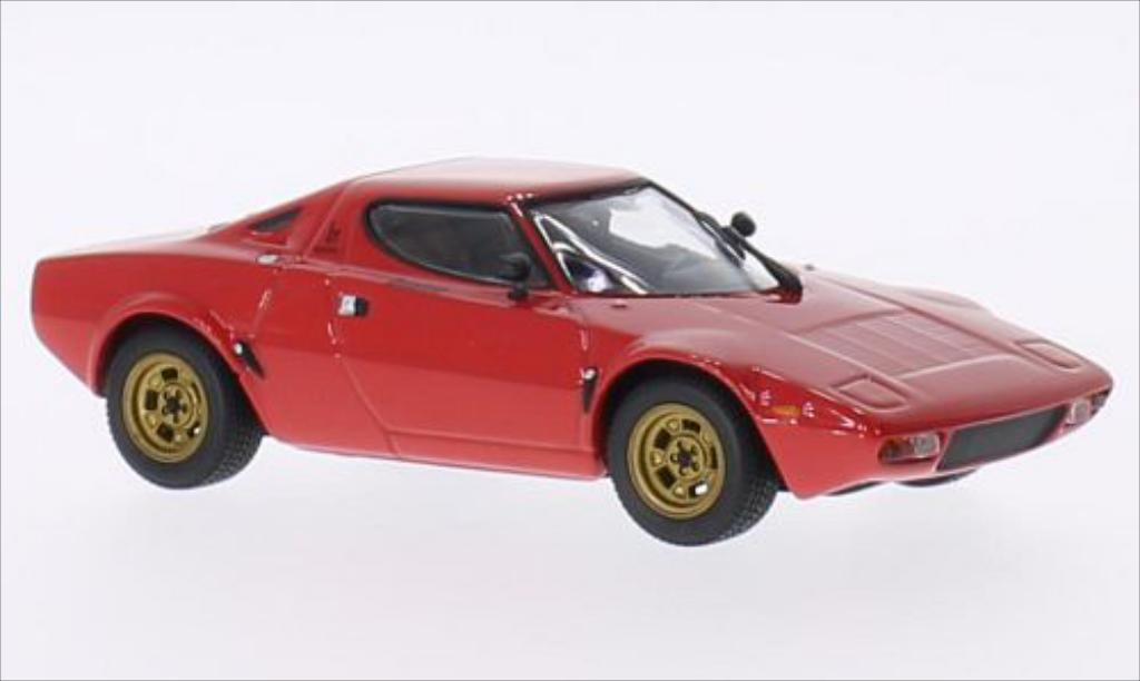 Lancia Stratos 1/43 Minichamps Stradale red diecast model cars