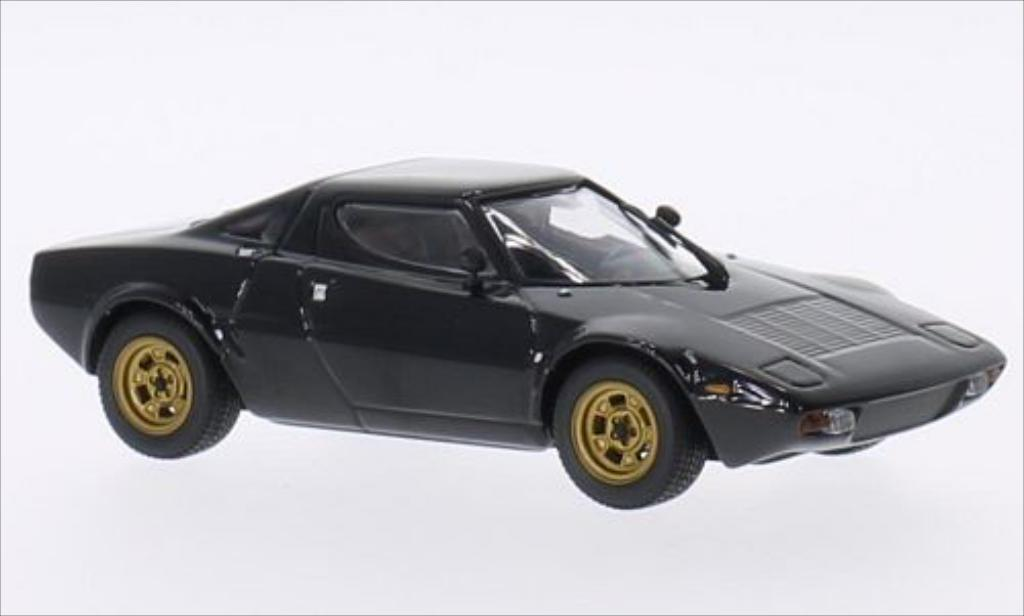 Lancia Stratos 1/43 Minichamps Stradale black diecast model cars