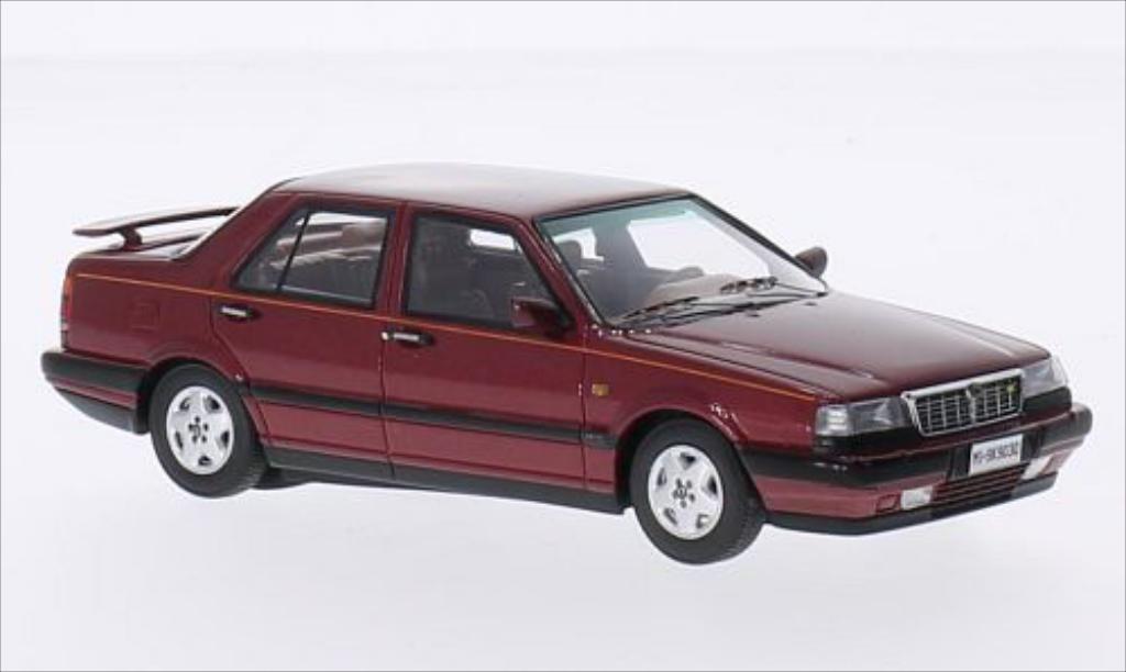 Lancia Thema 1/43 Kess 8.32 2S metallic-rouge 1988 miniature