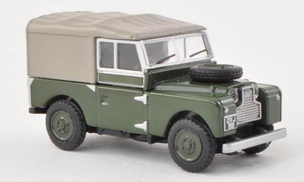Land Rover 88 1/87 Schuco verte miniature