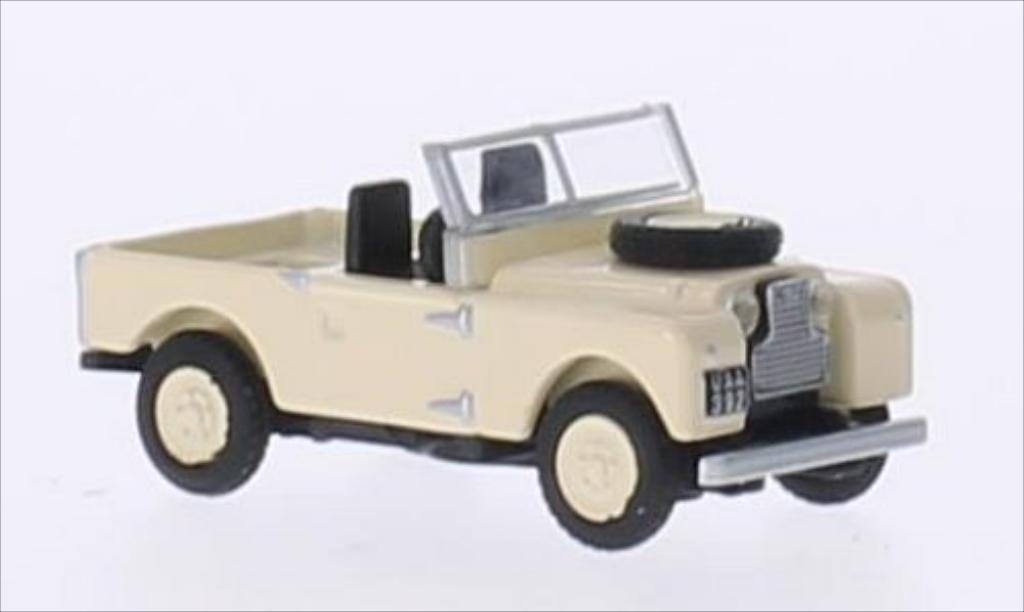 Land Rover 88 1/87 Schuco beige RHD modellautos