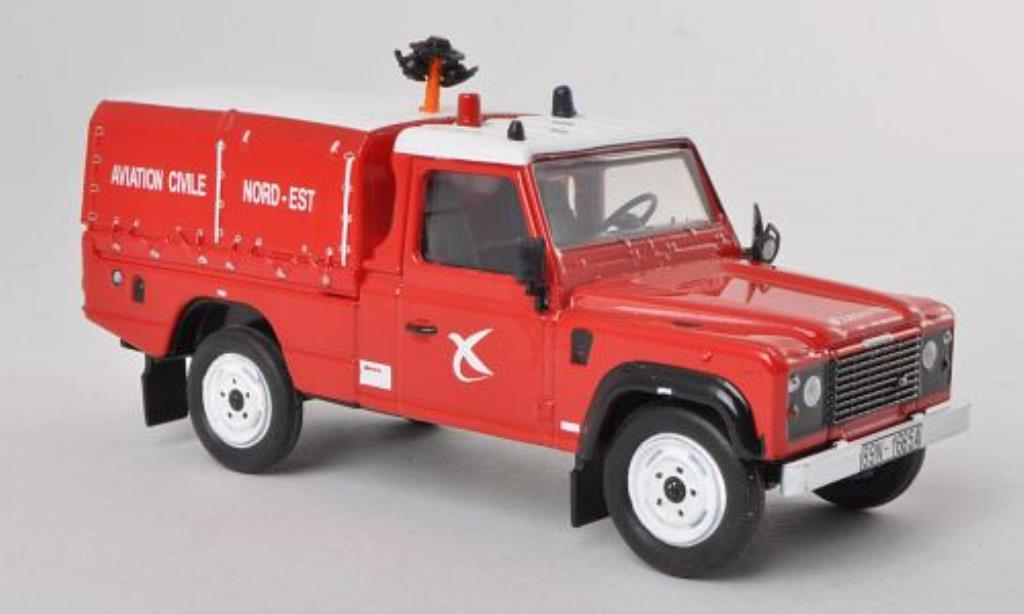 land rover defender 110 aviation civile nord est feuerwehr f 1998 mcw diecast model car 1 43. Black Bedroom Furniture Sets. Home Design Ideas