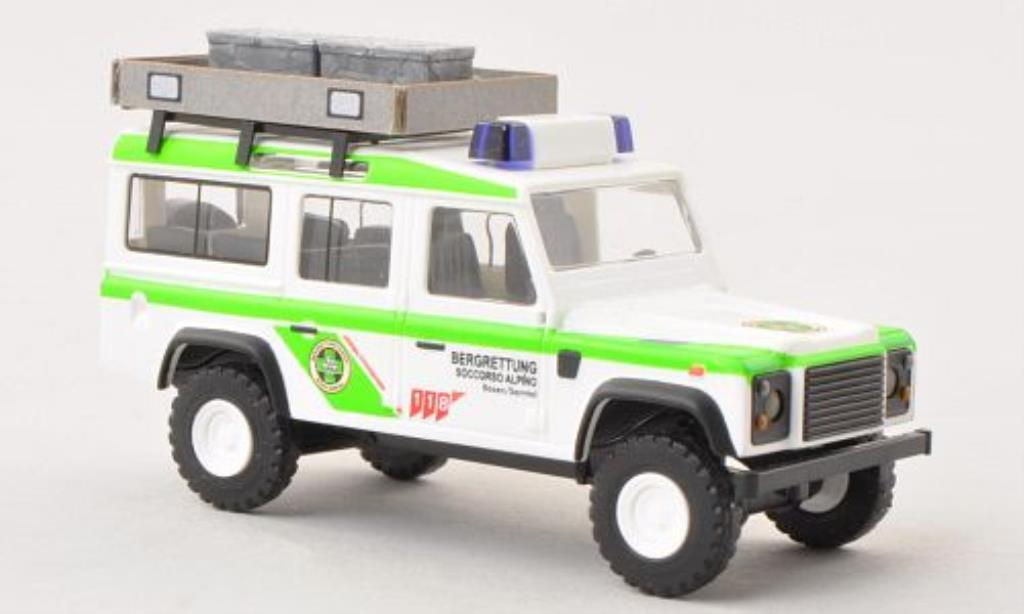 Land Rover Defender 1/87 Busch Bergrettung Bozen Sarntal (Nr.8) miniature