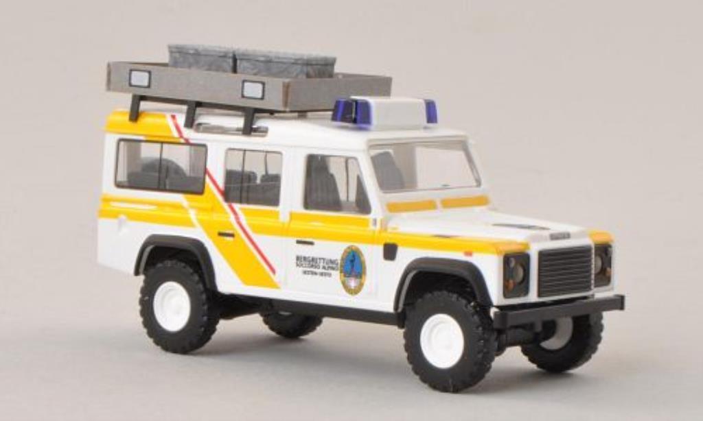 Land Rover Defender 1/87 Busch Bergrettung Sexten (IT) miniature