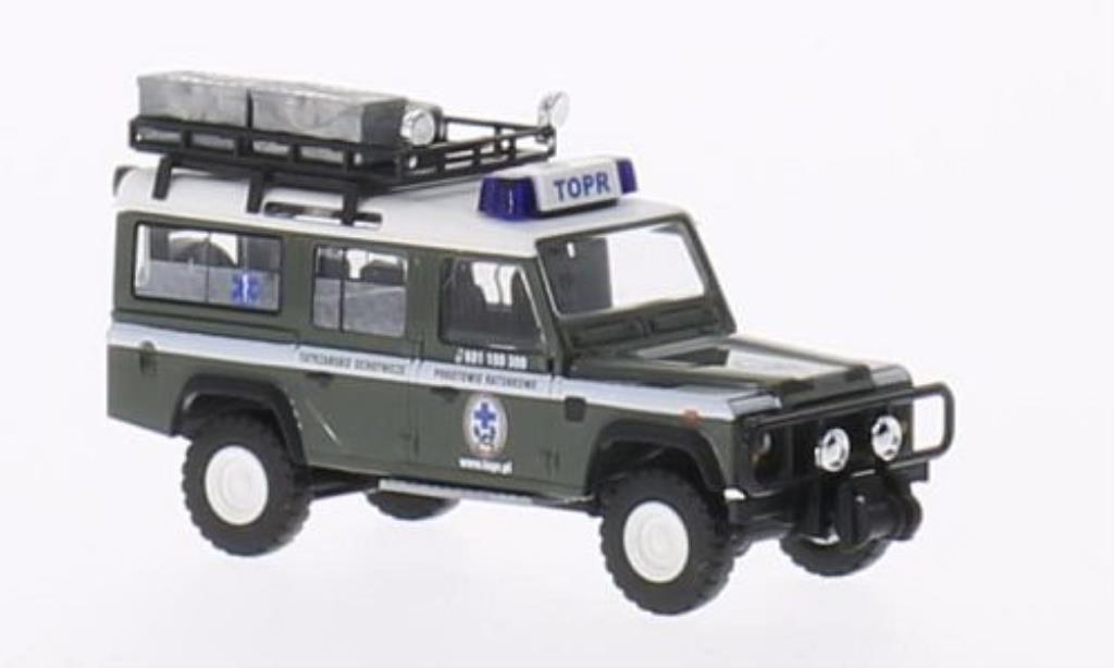 Land Rover Defender 1/87 Busch Bergwacht Polen miniature