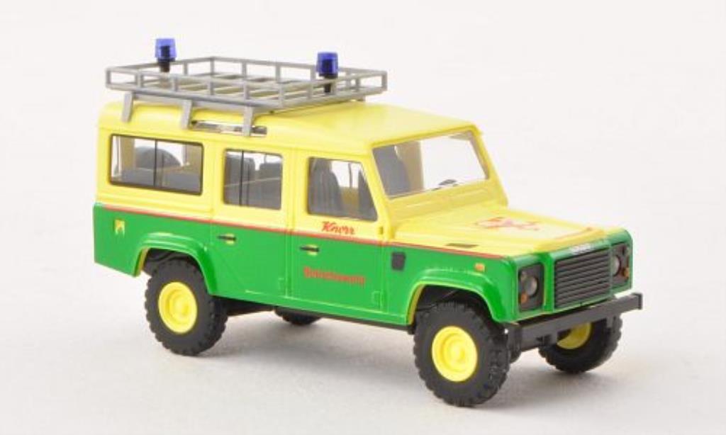Land Rover Defender 1/87 Busch Knorr Betriebswehr 1983 miniature