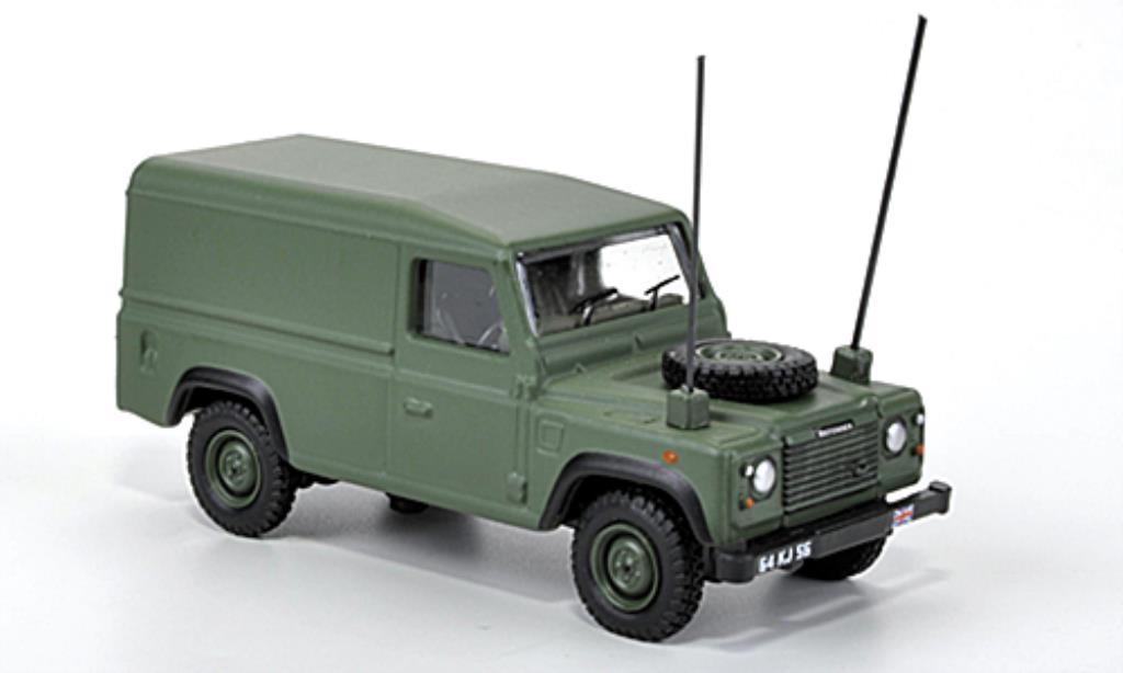 Land Rover Defender 1/76 Oxford mattgrun 1984 miniature